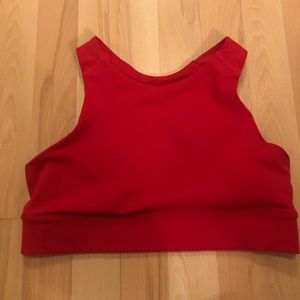 Old Navy Other - 💕 Red racer back sports bra